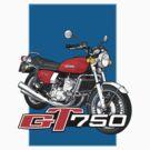 Suzuki GT750 by Steve Harvey