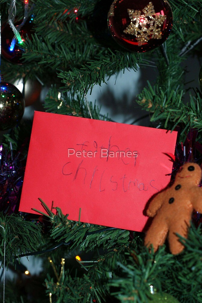 Letter to Father Christmas by Peter Barnes