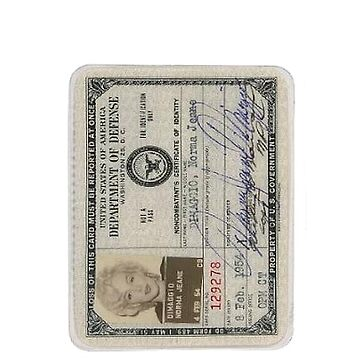 Monroe Dept of Defense Card by nicethreads