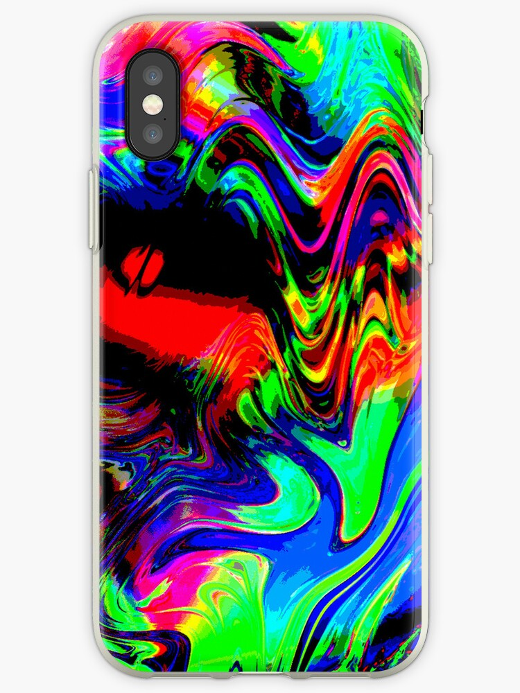 Always see your phone! iphone case by sarnia2