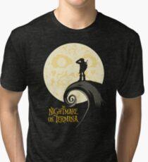 The Nightmare on Termina Tri-blend T-Shirt