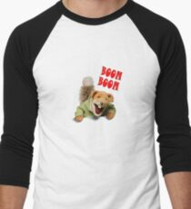 boom boom basil brush Men's Baseball ¾ T-Shirt