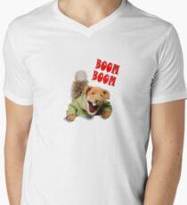 boom boom basil brush Men's V-Neck T-Shirt