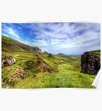 The Quiraing, Isle of Skye Poster