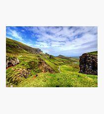 The Quiraing, Isle of Skye Photographic Print