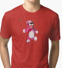 Teddy Bear Breaking Tri-blend T-Shirt