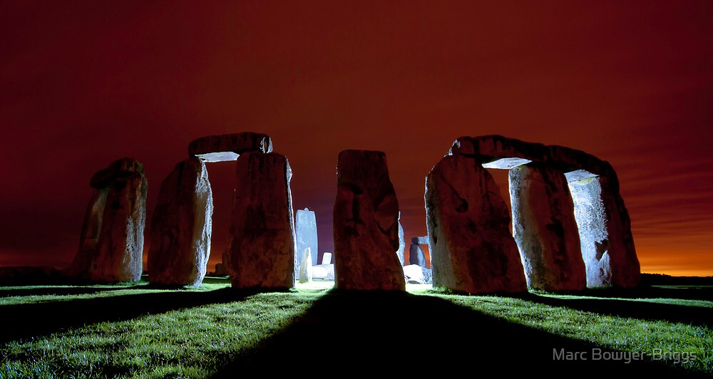 Stonehenge - Visitor by Marc Bowyer-Briggs