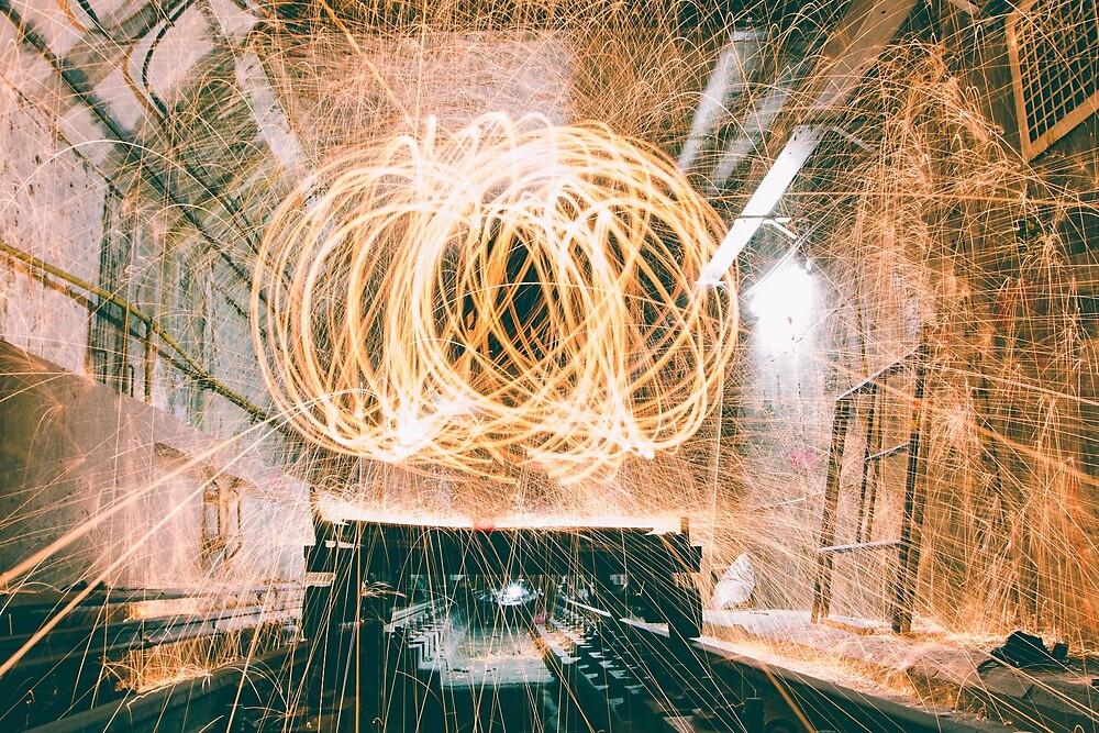 Spinning Underground  by Andylezzo