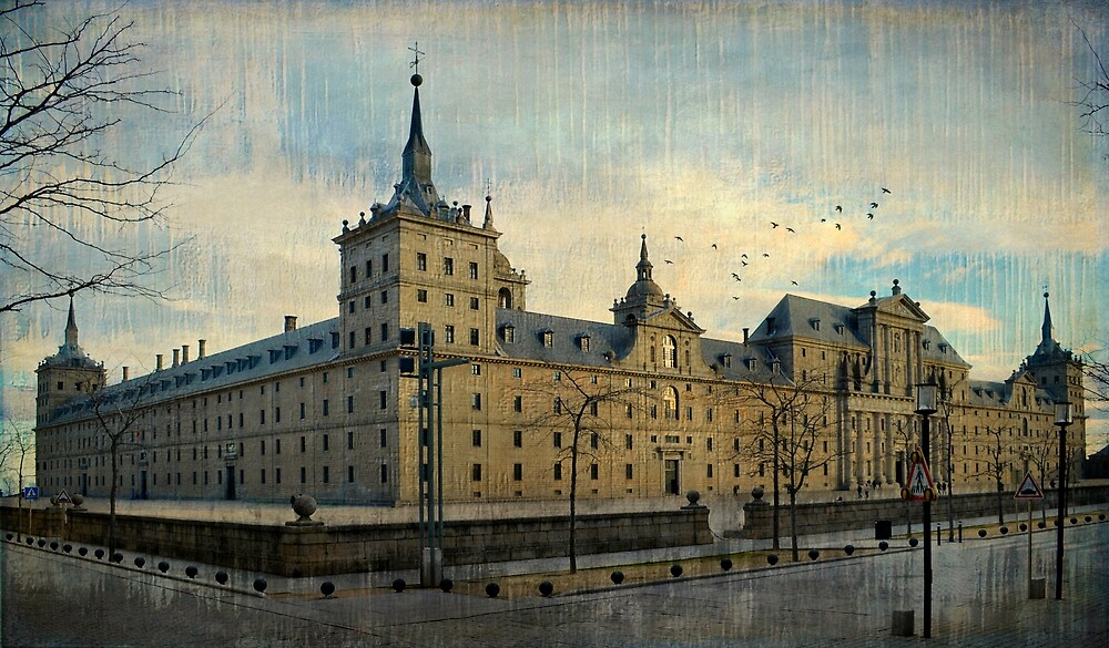 Monasterio de El Escorial by rentedochan