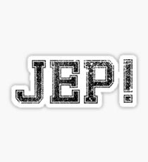 Jep! Sticker