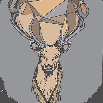 Geometric dear  by KoffiShop