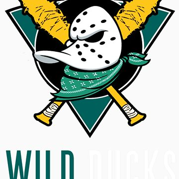 Anaheim Wild Ducks by DavDezign