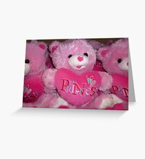 Valentines Toys Greeting Card