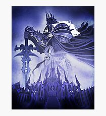 Wrath of the Lich King Photographic Print