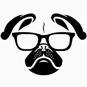 Nerd Dog by northsidelife