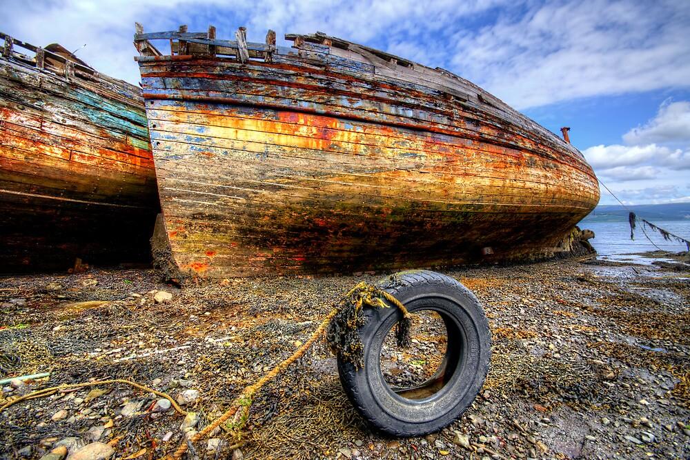 Salen Wrecks by Stephen Smith