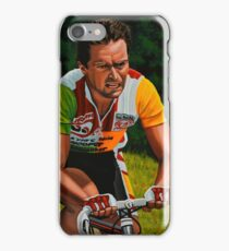 Bernard Hinault painting iPhone Case/Skin
