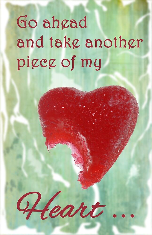 Take a Piece of my Candy Heart by Carol Vega