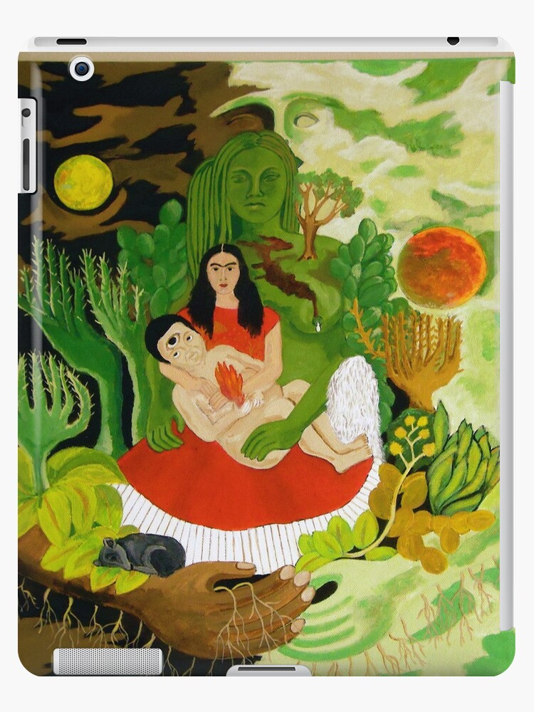 Frida and Diego i-pad case by Shulie1