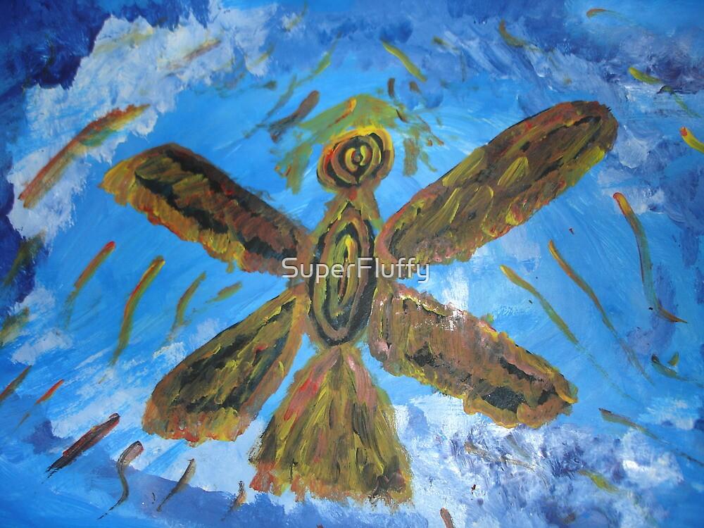 Phoenix in flight by SuperFluffy