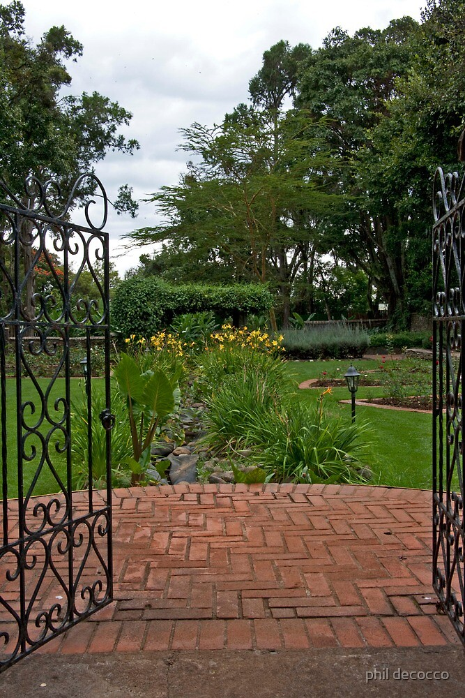 Into The Garden by phil decocco