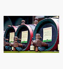 Apple Balsam Vinegar Photographic Print