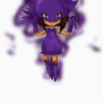Chibi girl-Haunter by AshleyIvola