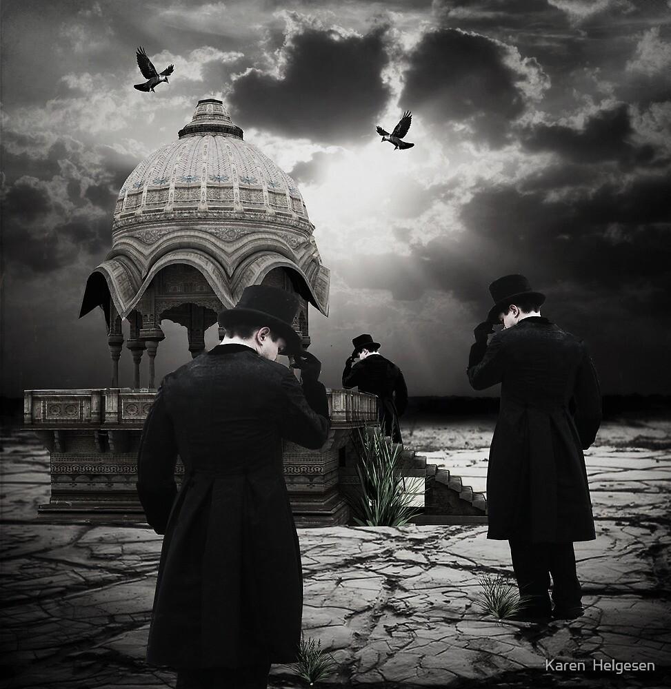 The Pilgrimage... by Karen  Helgesen