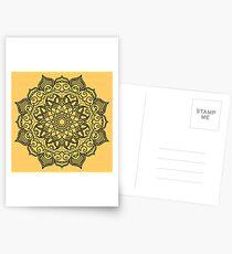 Dense Mandala Postcards