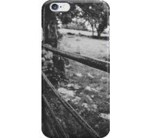 Black & White countryside iPhone Case/Skin