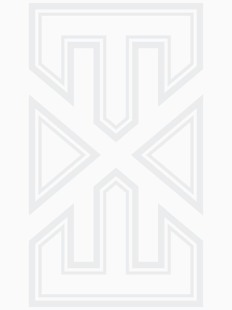 WhiteVarsity.EXE by dotexeclothing