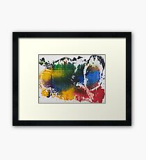 Colorful World Framed Print