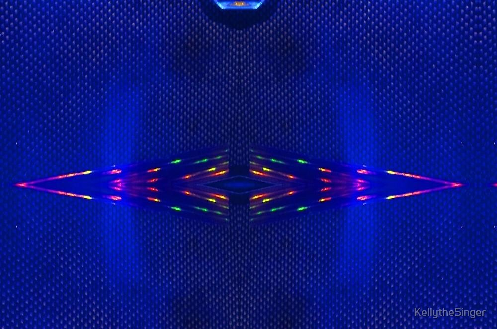 Blue Amp Refracting  B 11 by KellytheSinger