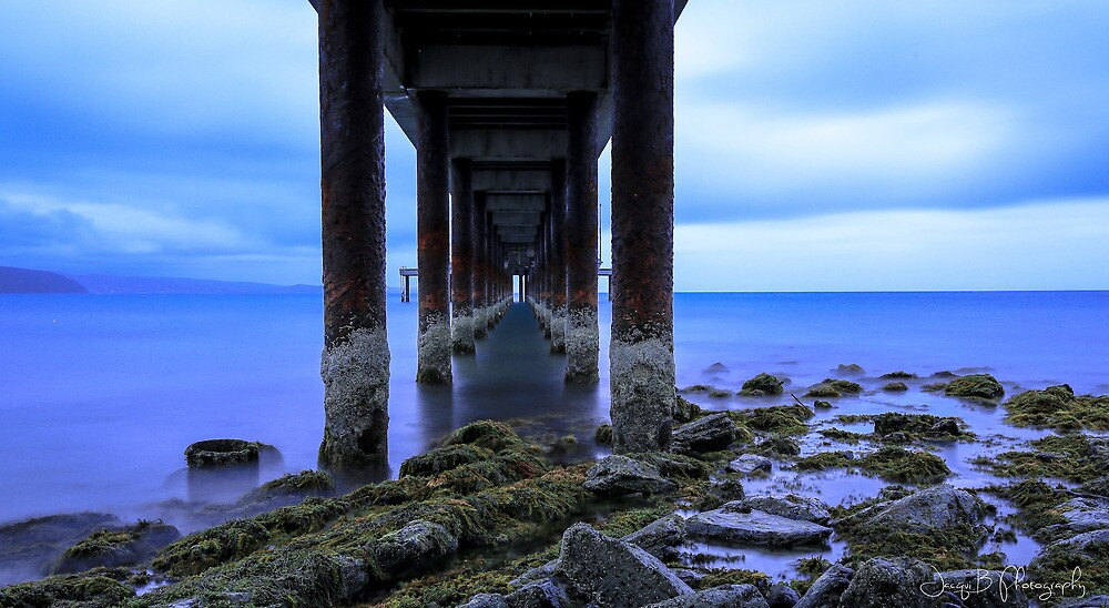 Under the Lorne Pier by Jacqui Barr