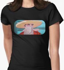 Cowboy PeeWee  Women's Fitted T-Shirt
