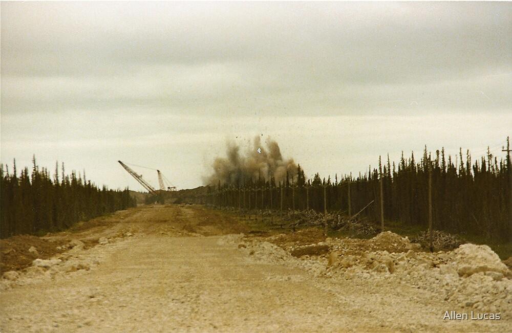 Pine Point Mine by Allen Lucas