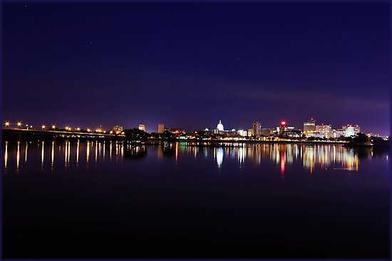 Harrisburg River View by Gopuraj Soundrarajan