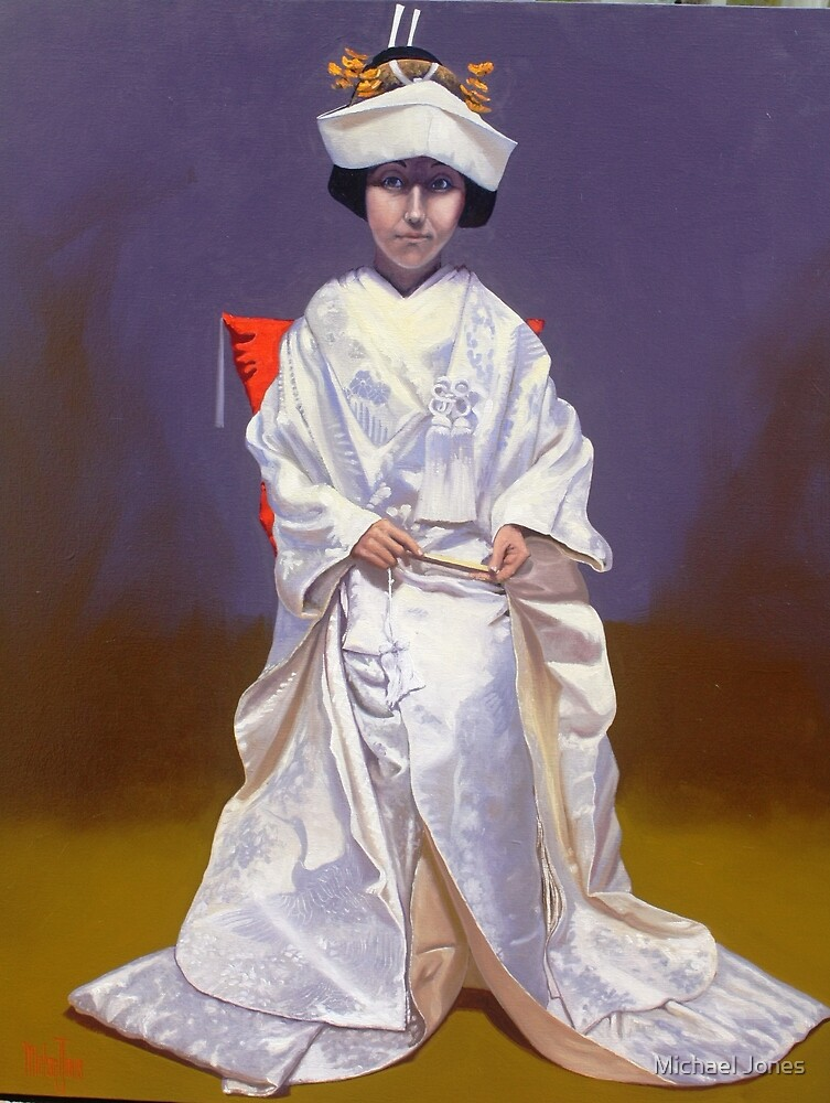 Japanese Bride by Michael Jones
