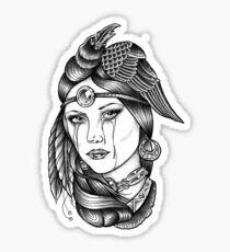 Native American Princess Sticker