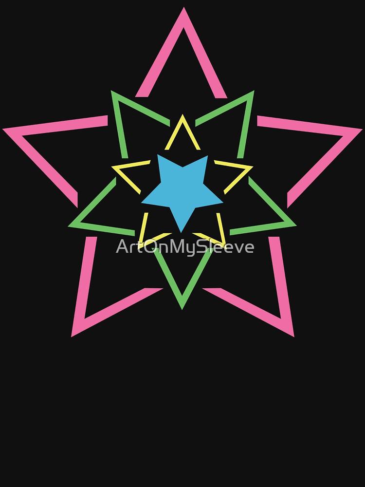 Exploding Star by ArtOnMySleeve