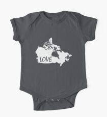 Canada Love One Piece - Short Sleeve