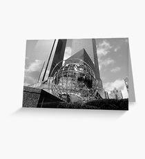 Tarjeta de felicitación New York City buildings