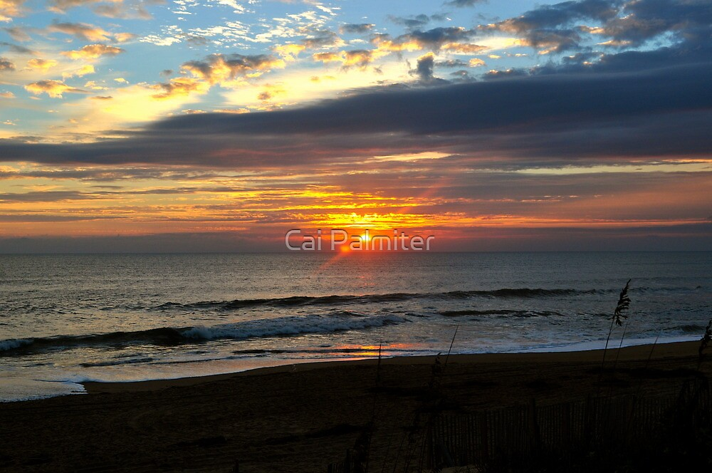 Outer Banks Sunrise by Cai Palmiter