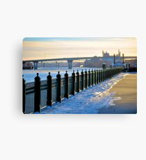 cold sunday afternoon Canvas Print