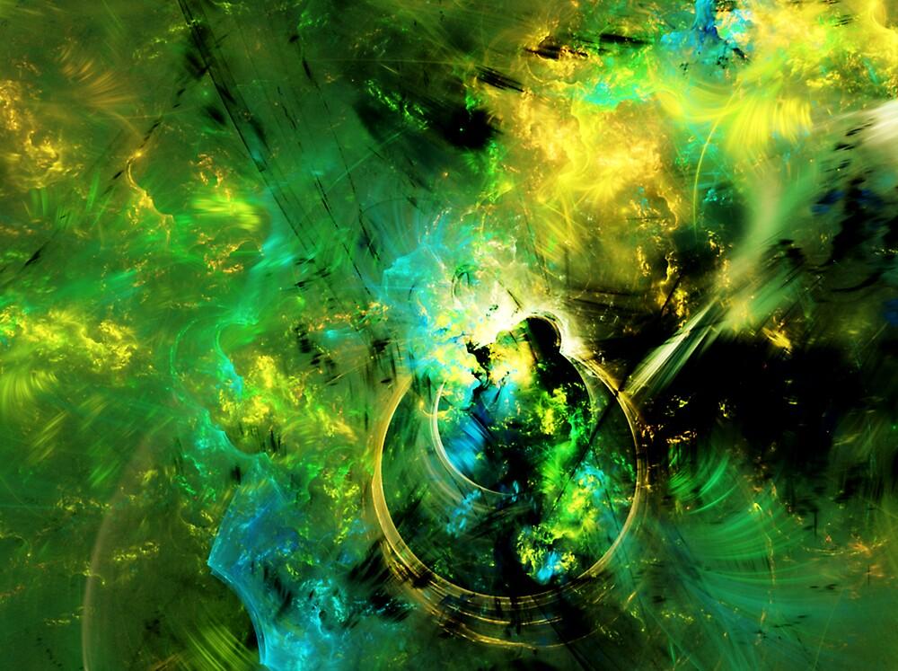 fractal art/ sunshine130491 by Melissa Theriault