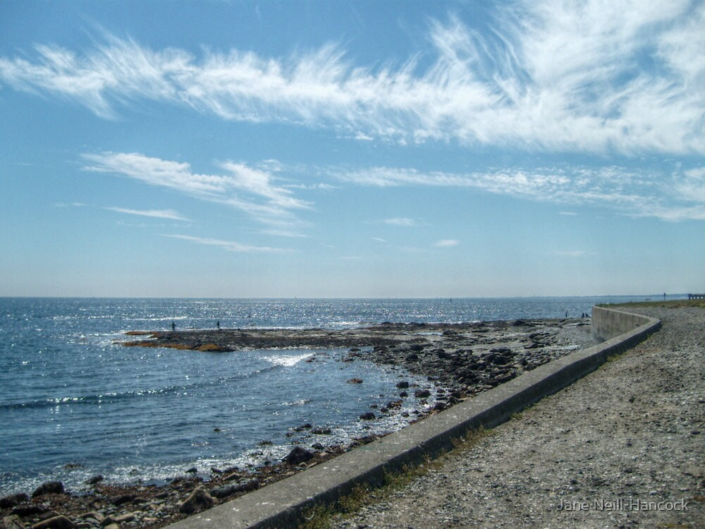 South Most Tip of Aquidneck Island, Ocean Drive by Jane Neill-Hancock