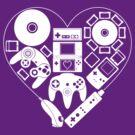 Nintendo Love by missarrowette