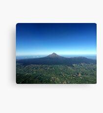 Mt Taranaki New Zealand Canvas Print