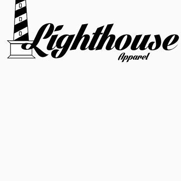Lighthouse Apparel Logo Tee ON SALE! by Lighthouse2014