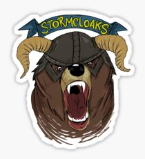 The Stormcloaks V.2 Sticker